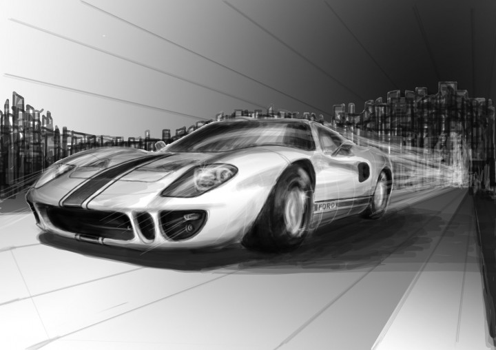 Luxury Fast Car Drawings Adornment - Electrical Diagram Ideas ...