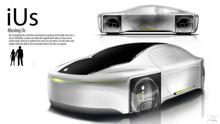 Apple Concept Car Apple Ius Concept by Shane