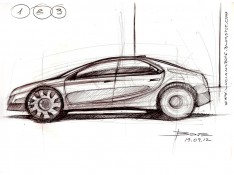 Car-side-view-sketching-by-Luciano-Bove