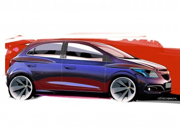 Chevrolet Onix: design gallery
