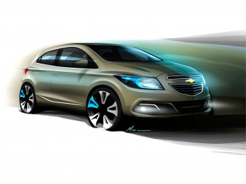 Chevrolet Onix Design Sketch