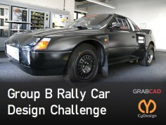 CyDesign Labs Group B Rally Car Design Challenge