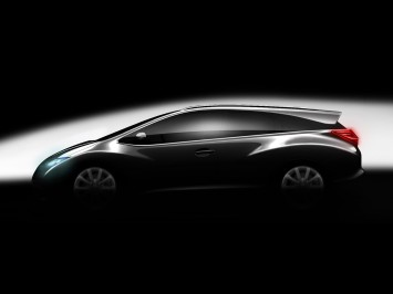 Sketching Honda  on Honda Has Announced The Addition Of A New Civic Wagon  Style Model