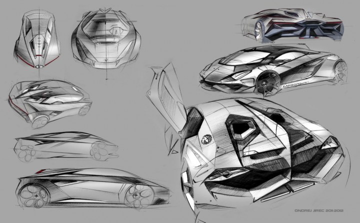 lamborghini perdig n concept car body design. Black Bedroom Furniture Sets. Home Design Ideas