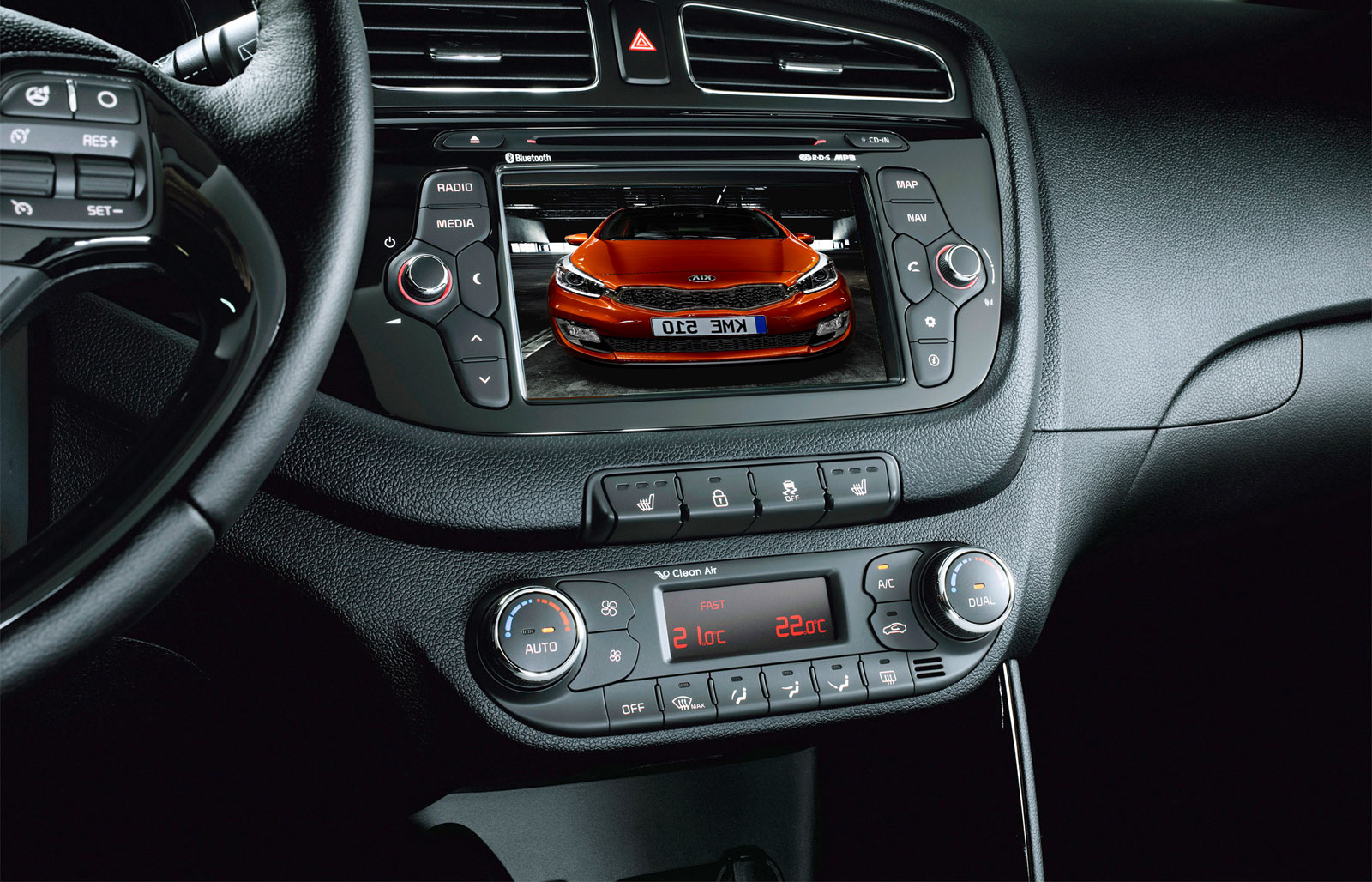 2012 kia pro cee 39 d interior car body design. Black Bedroom Furniture Sets. Home Design Ideas
