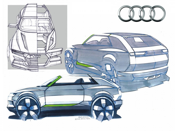 Audi reveals its future design strategy