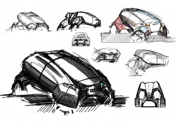 Audi Urban Escape quattro - Design Sketches