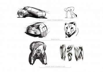 Audi Urban Escape quattro - Form Evaluation Sketches