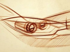 Car-Headlamp-Design-Sketch