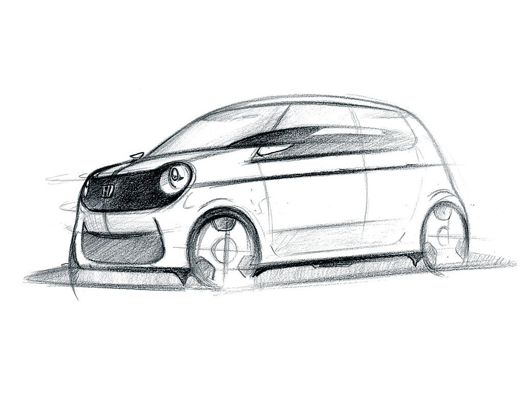 honda n-one - design sketch