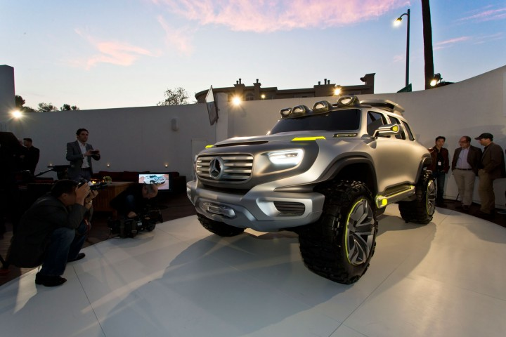 Mercedes-Benz Ener-G-Force Concept debuts in LA
