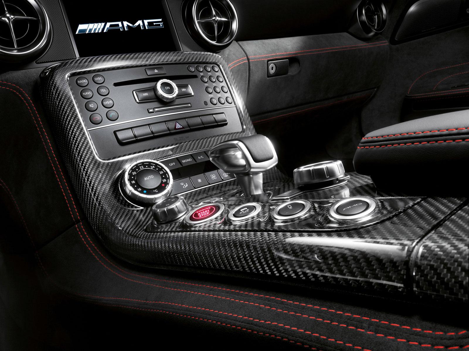 Mercedes-Benz SLS AMG Black Series Interior Center Tunnel - Car Body ...