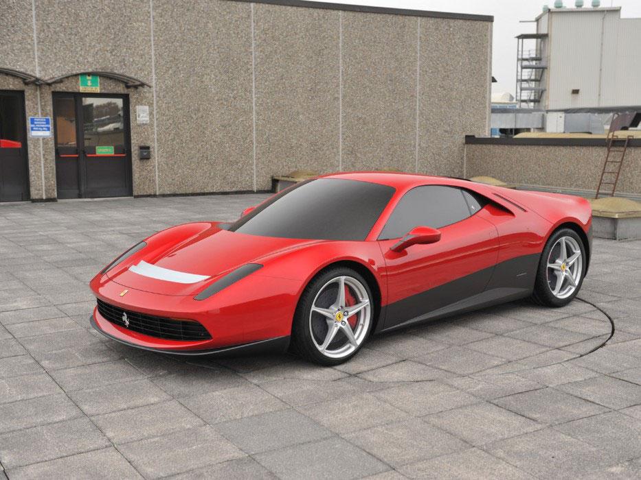 pininfarina ferrari sp12 ec new details car body design. Black Bedroom Furniture Sets. Home Design Ideas
