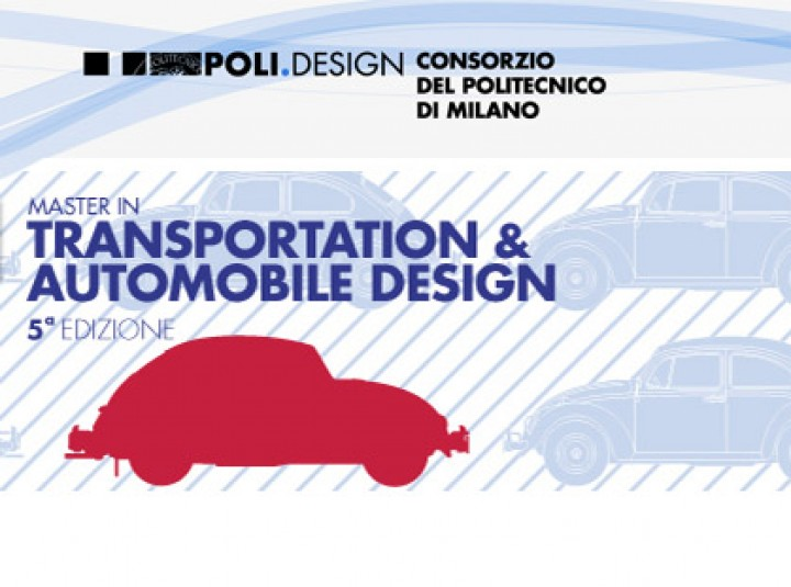 Politecnico di Milano opens admissions for 2013-2014 Master in Transportation Design