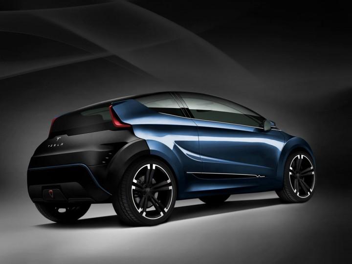 Tesla C Concept Car Body Design