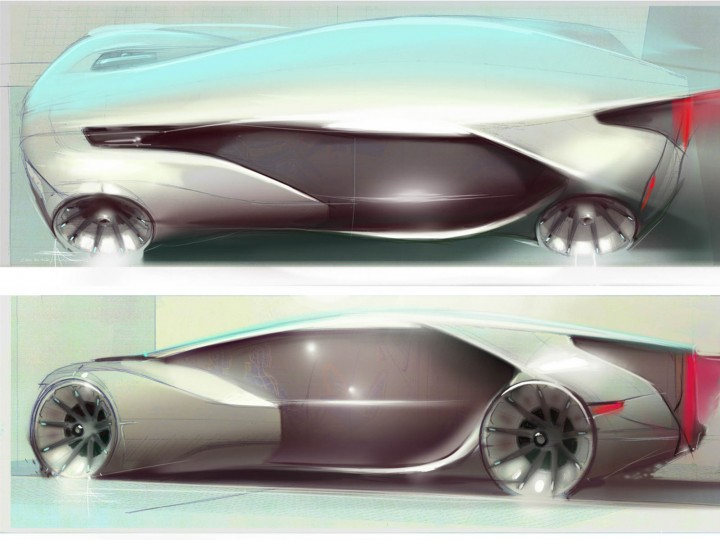 Volvo Singularity Concept Design Sketch