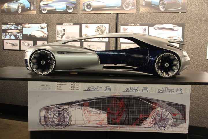 Volvo Singularity Concept Scale Model