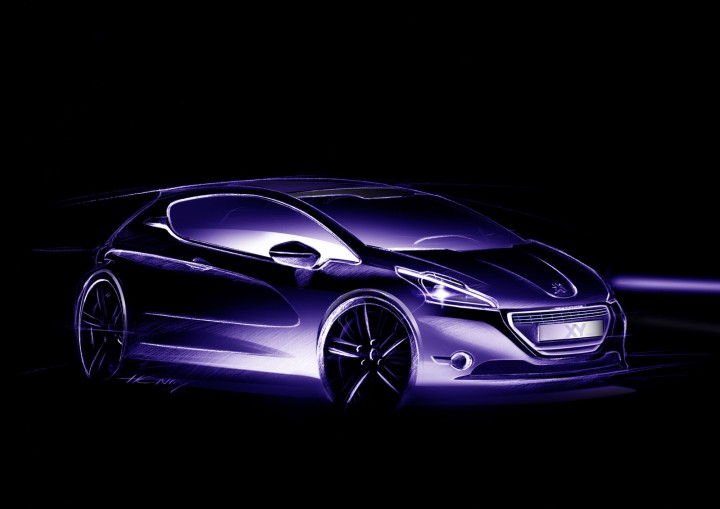 Peugeot 208 Xy The Design Car Body Design
