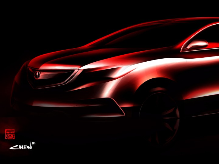 Acura previews 2014 MDX Concept