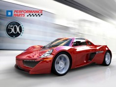 500 Group Supercar 3D Dash Challenge