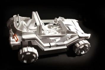 Alpine Utility Vehicle Concept - Scale model