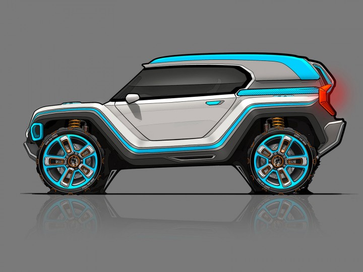 Alpine Utility Vehicle Concept