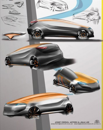Audi Aureus Concept by Jinju Lee and Josep Ferriol Artero - Design Panel