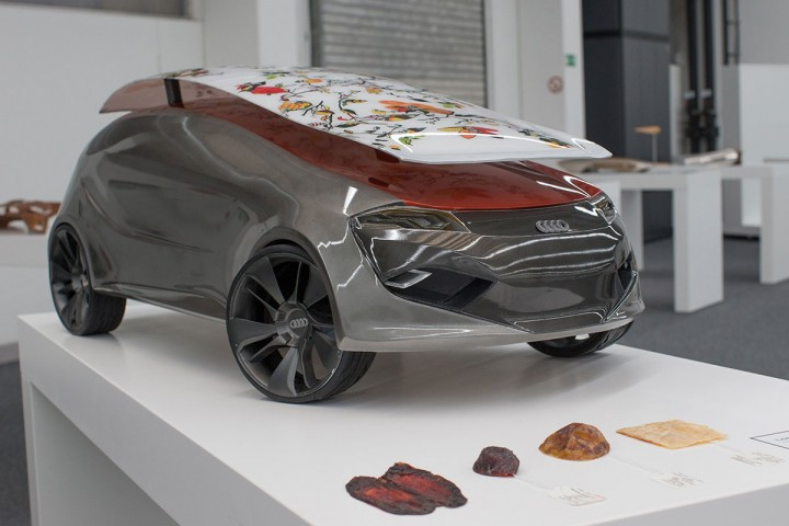 Audi Aureus Concept by Jinju Lee and Josep Ferriol Artero - Scale model