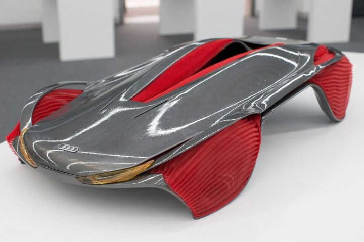 Audi Epiphany Concept by Shihan Pi and Yjing Zhang - Scale model