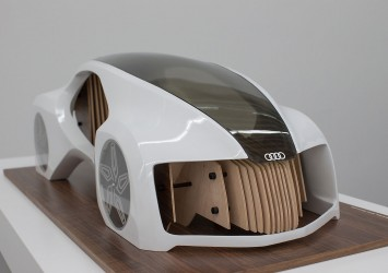 Audi Wood Aerodynamics Concept - Model by Adrian Mankovecky