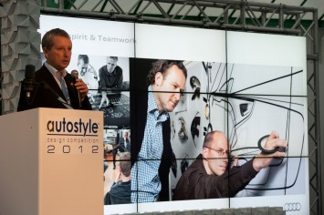 Autostyle 2012 - Audi head of design research Klemens Rossnagel