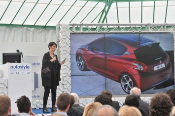 Autostyle 2012 - Peugeot design manager Anna Costamagna