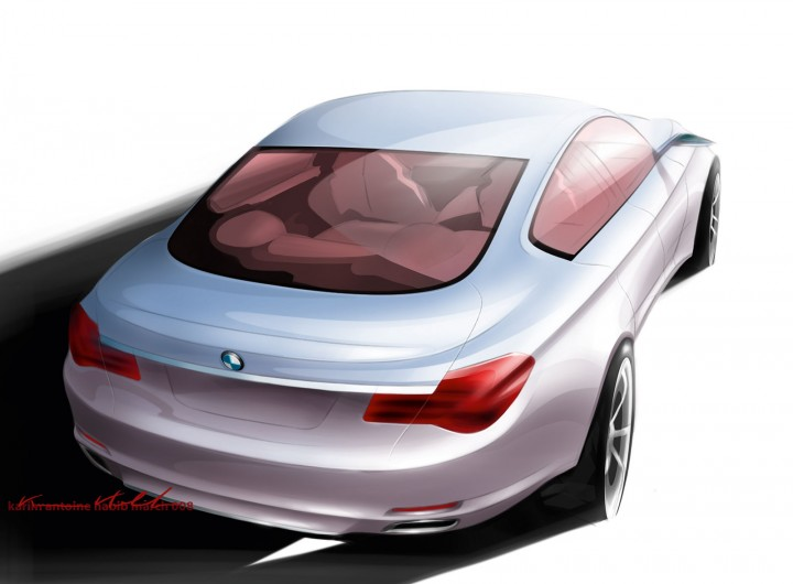 BMW 7 Series Design Sketch by Karim Habib
