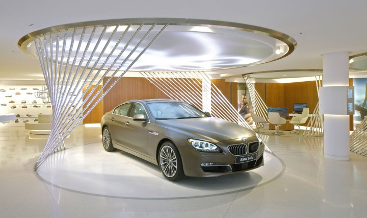 BMW Brand Store in Paris