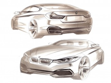 The Concept 4 Series Coupé at BMW Design Night