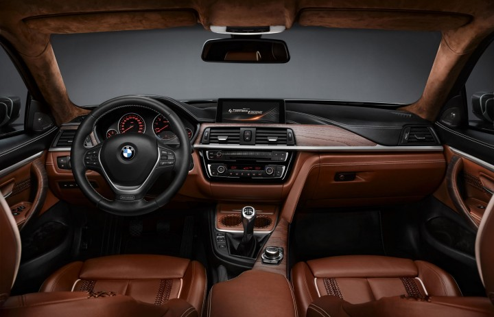 BMW Concept 4 Series Coupe Interior