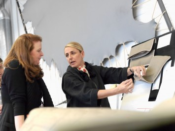BMW designer Martina Starke and and architect Patricia Urquiola