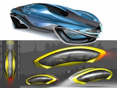 Art Center 2012: Levitating Concept Vehicles
