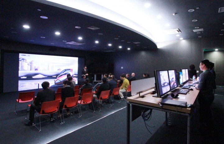 GM China Advanced Design Center - Virtual Reality Room