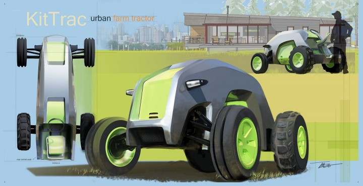 Honda Kit Trac Concept - Design Board