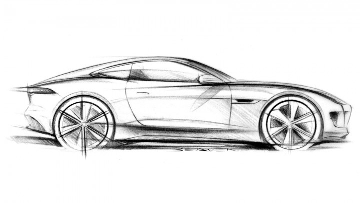 Images of Jaguar Car Drawing - #SpaceHero