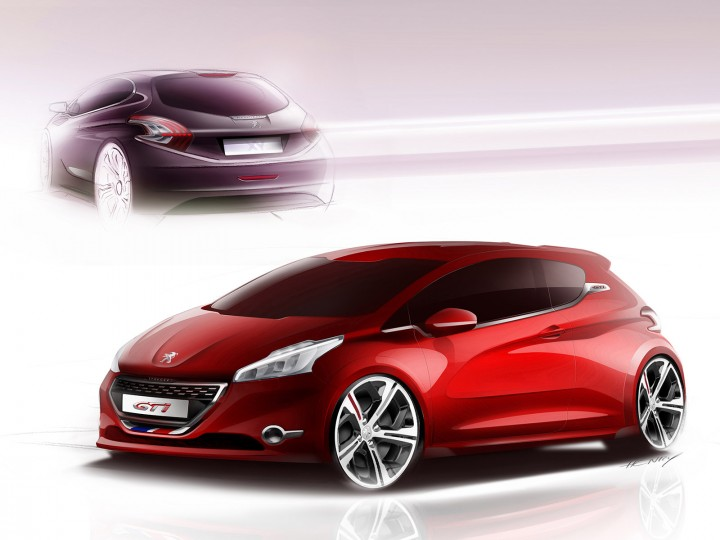 Peugeot 208 Gti And Xy Design Gallery Car Body Design