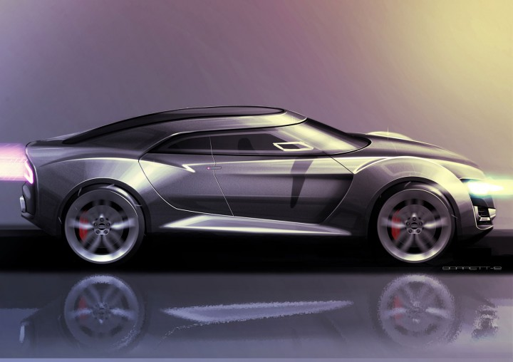 Qoros Flagship Concept - Design Sketch by Jamie Barrett