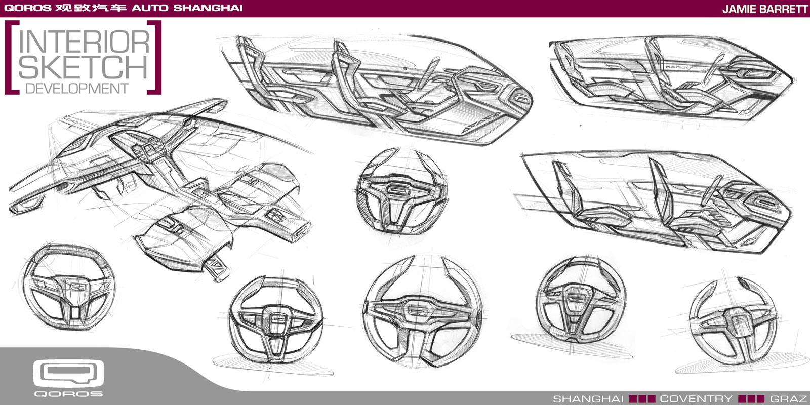 Qoros Flagship Concept Interior Development Design