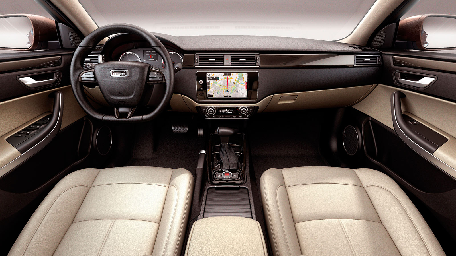 Qoros GQ3 Interior