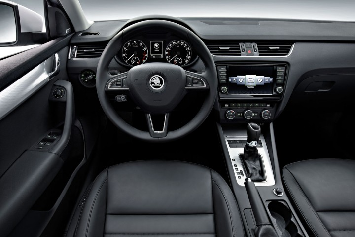 Skoda New Octavia Interior