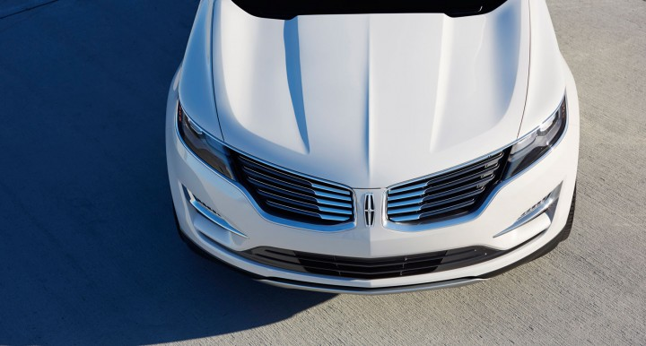 Lincoln MKC Concept - Front end design