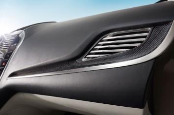 Lincoln MKC Concept Interior - Dashboard detail