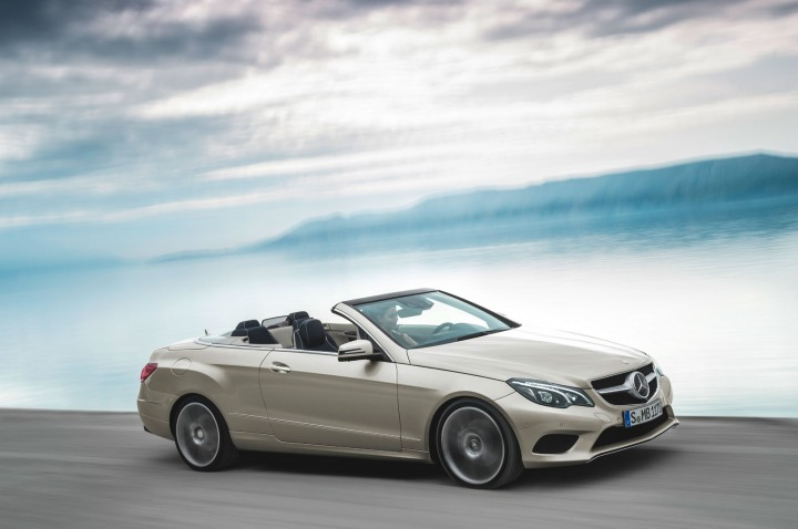 Mercedes benz e class coup and cabriolet restyled car for Mercedes benz 2013 e350