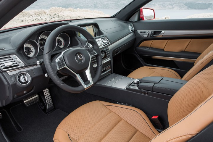 2013 Mercedes-Benz E-Class Coupe Interior